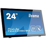 "iiyama 23.6"" LED Tactile - ProLite T2435MSC-B2 pas cher"
