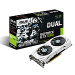 ASUS GeForce GTX 1060 DUAL-GTX1060-6G pas cher