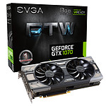 EVGA GeForce GTX 1070 FTW GAMING ACX 3.0 pas cher