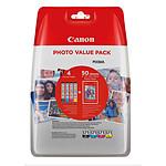 Canon CLI-571 BK/C/M/Y Photo Value Pack pas cher