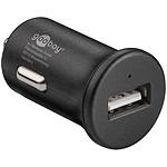 Goobay Chargeur rapide USB 2.4A sur prise allume-cigare (noir) pas cher
