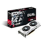 ASUS Dual-RX480-O4G - AMD Radeon RX 480 4 Go pas cher