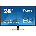 "iiyama 28"" LED - ProLite X2888HS-B2 pas cher"
