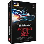 Bitdefender Antivirus Plus 2017 - 1 An 1 Poste pas cher