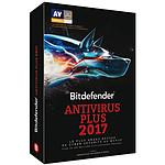 Bitdefender Antivirus Plus 2017 - 2 Ans 3 Postes pas cher