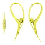 Sony MDR-AS410AP Jaune pas cher