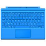 Microsoft Type Cover Surface Pro 4 Bleu vif pas cher
