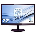 "Philips 21.5"" LED - 227E6LDSD pas cher"