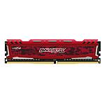 Ballistix Sport 4 Go DDR4 2400 MHz CL16 - Rouge pas cher