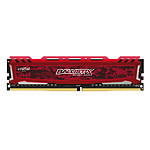 Ballistix Sport 4 Go DDR4 2666 MHz CL16 - Rouge pas cher