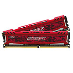 Ballistix Sport 16 Go (2 x 8 Go) DDR4 2400 MHz CL16 SR - Rouge pas cher