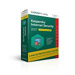 Kaspersky Internet Security 2017 - Licence 1 poste 3 ans pas cher