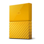WD My Passport Thin 2 To Jaune (USB 3.0) pas cher