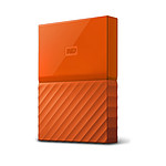WD My Passport Thin 2 To Orange (USB 3.0) pas cher