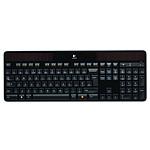 Logitech Wireless Solar Keyboard K750 (Noir) pas cher