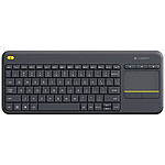 Logitech Wireless Touch Keyboard K400 Plus Noir pas cher