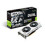 ASUS GeForce GTX 1060 Edition DUAL-GTX1060-3G pas cher