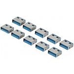 Bouchons de verrouillage pour 10 ports USB pas cher