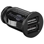Mini chargeur double USB 3.1A sur prise allume-cigare pas cher