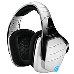 Logitech G933 Artemis Spectrum RGB Wireless 7.1 Surround Gaming Headset (Blanc) pas cher