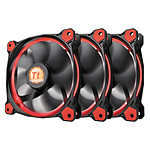 Thermaltake Riing 12 Rouge x3 pas cher