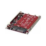 "Adaptateur RAID 2x M.2 NGFF SSD vers SATA 2,5"" pas cher"