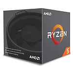 AMD Ryzen 5 2600X Wraith Spire Edition (3.6 GHz) avec mise à jour BIOS pas cher