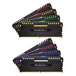 Corsair Vengeance RGB Series 64 Go (8x 8 Go) DDR4 3800 MHz CL19 pas cher