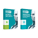 ESET Mobile Security Premium + Parental Control  - 1 an 3 postes (Android) pas cher