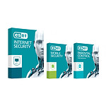 ESET Internet Security 2017 + Mobile Security + Parental Control (1 an 3 postes) pas cher
