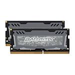 Ballistix SO-DIMM DDR4 16 Go (2 x 8 Go) 2666 MHz CL16 pas cher