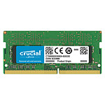 Crucial SO-DIMM DDR4 16 Go 2666 MHz CL19 Dual Rank X8 pas cher