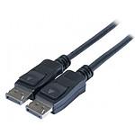 Cordon DisplayPort 1.2 mâle/mâle (3 mètres) pas cher