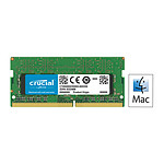 Crucial for Mac SO-DIMM DDR4 8 Go 2400 MHz CL17 pas cher