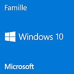 Microsoft Windows 10 Famille 32/64 bits - Version clé USB pas cher