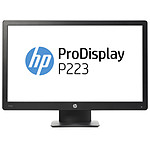 "HP 21.5"" LED - ProDisplay P223 pas cher"
