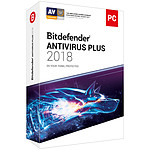 Bitdefender Antivirus Plus 2018 - 2 Ans 3 Postes pas cher