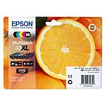 """Epson """"Oranges"""" 33 XL Multipack (C13T33574011) pas cher"""