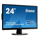 "iiyama 24"" LED - ProLite X2483HSU-B3 pas cher"