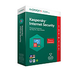Kaspersky Internet Security 2018 - Licence 5 postes 1 an pas cher