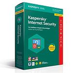 Kaspersky Internet Security 2018 Mise à jour - Licence 1 poste 1 an pas cher
