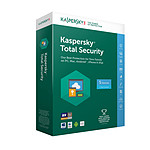 Kaspersky Total Security 2018 - Licence 5 postes 1 an pas cher