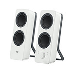 Logitech Multimedia Speakers Z207 Blanc pas cher