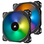 Corsair Air Series ML 140 Pro LED RGB Twin Pack pas cher