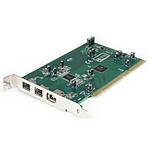 StarTech.com Carte 3 ports PCI 1394b FireWire avec kit d'édition vidéo numérique pas cher