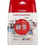 Canon CLI-581 BK/C/M/Y + papier photo Canon pas cher