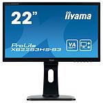 "iiyama 21.5"" LED - ProLite XB2283HS-B3 pas cher"