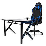 AKRacing Gaming Desk (bleu) pas cher