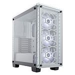 Corsair Crystal 460X RGB - Blanc pas cher