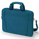 "Dicota Slim Case Base 15-15.6"" (bleu) pas cher"